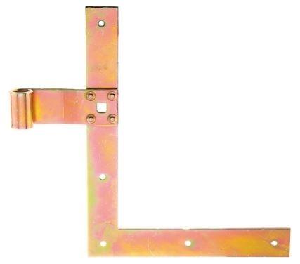 Fensterladen Winkelband 250x300mm  gelb verzinkt