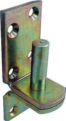 Aufschraubkloben Dorn 20mm D1  gelb verzinkt
