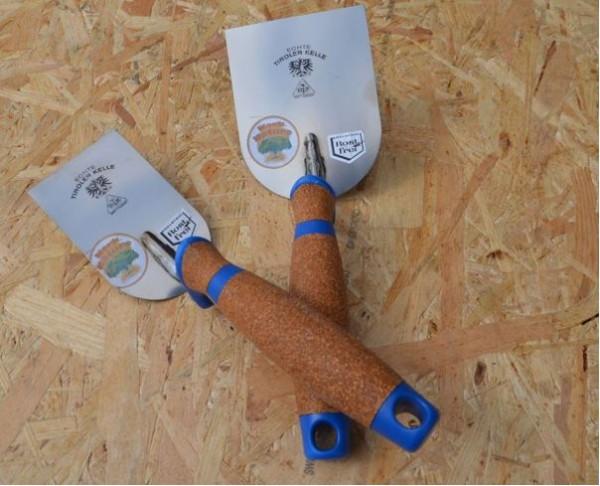 Gipserspachtel mit Korkgriff Edelstahl 80mm