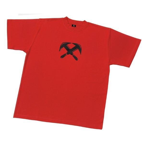 FHB T-Shirt Dachdecker TILL Gr. L rot