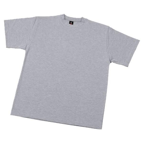 FHB T-Shirt UNI grau 5XL