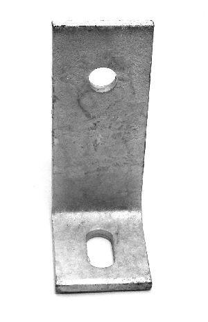 Betonwinkel 75x75x6x50mm,  mit Langloch Typ P