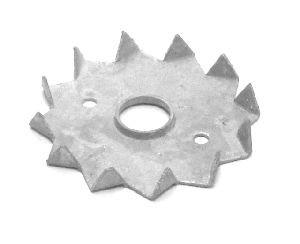 Bulldog D062mm, einseitig verzinkt