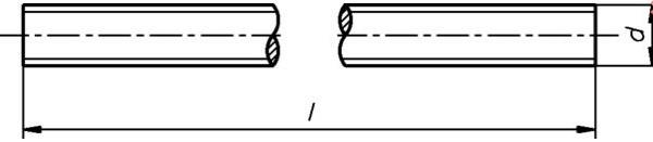 M08 Gewindestangen DIN 976 verz. 1m
