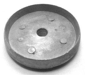 Appel Ringkeildübel 080mm,  einseitig