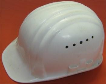 Bauschutzhelm Weiss