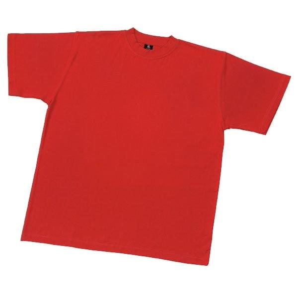 FHB T-Shirt UNI rot XS