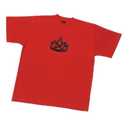 FHB T-Shirt Zimmermann KLAAS Gr. XXL rot
