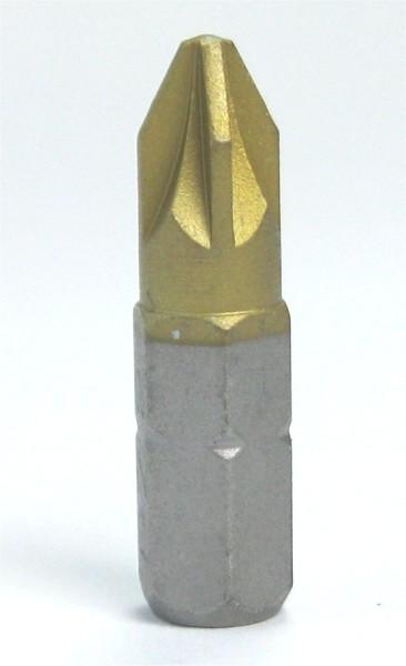 Bit ISO-Tin-PZ 1 / 2-3 -1/4 Zoll