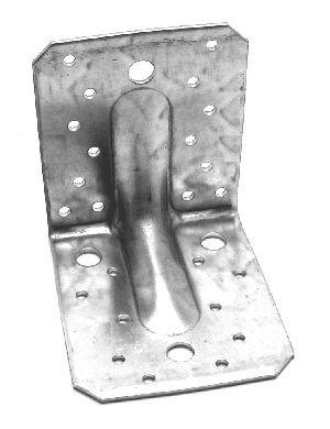 Winkelverbinder Typ 90 mit Rippe