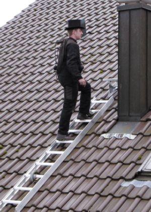 Dachleiter, Rotbraun, Länge 2,80m