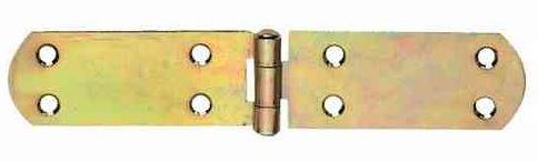 Französische Kistenbänder 180x35x2,0mm  gelb verzinkt